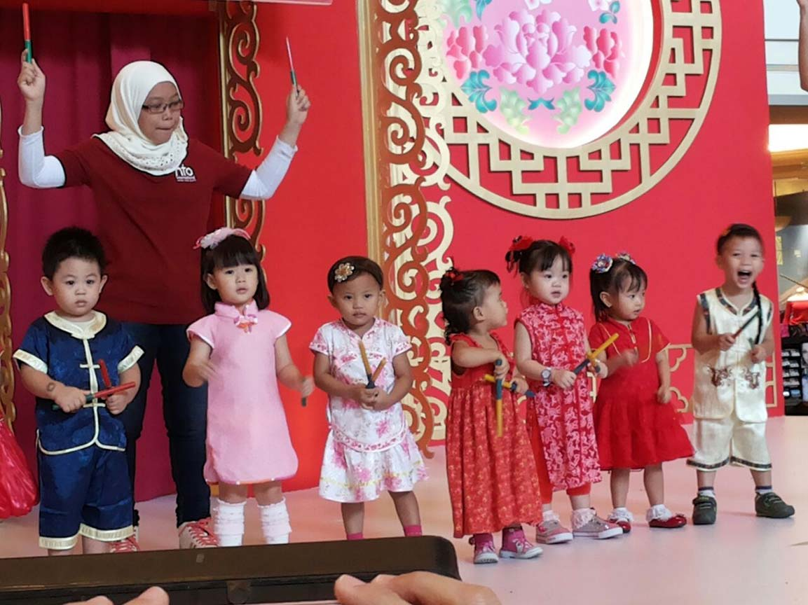 Performance on Chinese New Year 2015